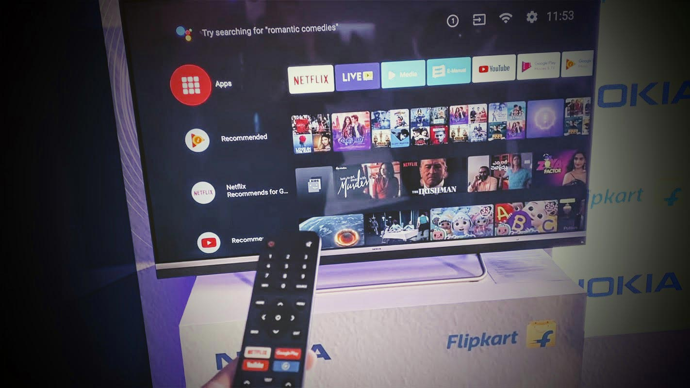 Conoce la serie de televisores Android 4K de bajo costo presentada por Nokia