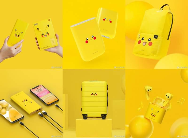 ¡No te lo pierda! Xiaomi presenta una línea de productos inspirada en Pikachu