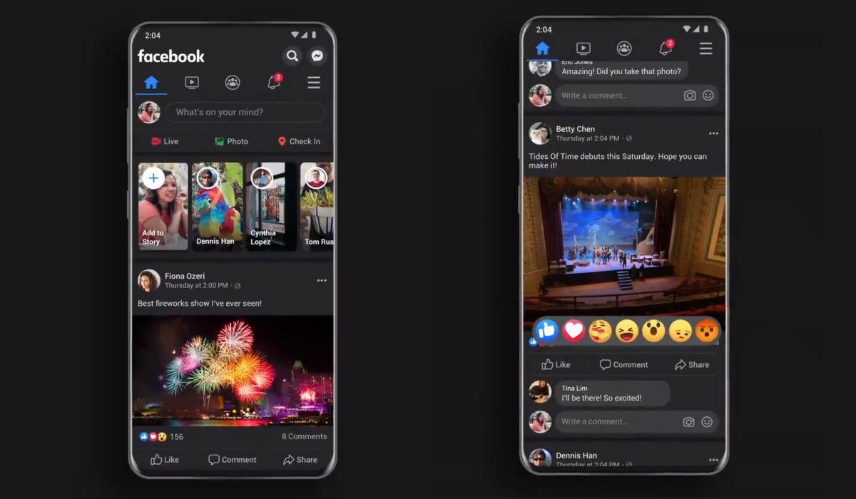 Facebook estrena el Modo Oscuro en iOS