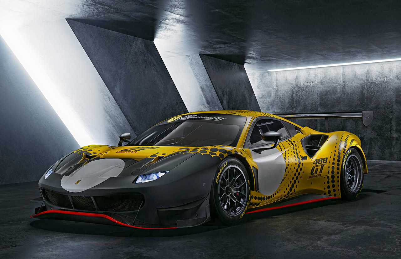 Ferrari 488 GT Modificará de edición limitada presentado, es un superdeportivo solo para pista