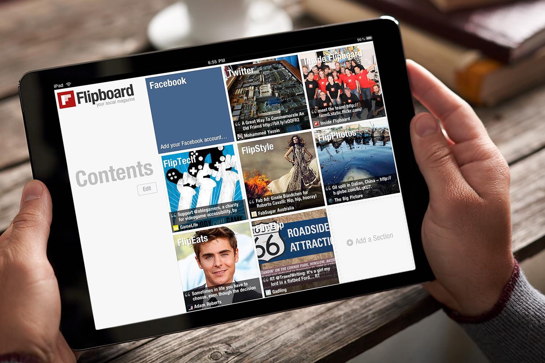 Flipboard lanza el modo oscuro para usuarios de Android