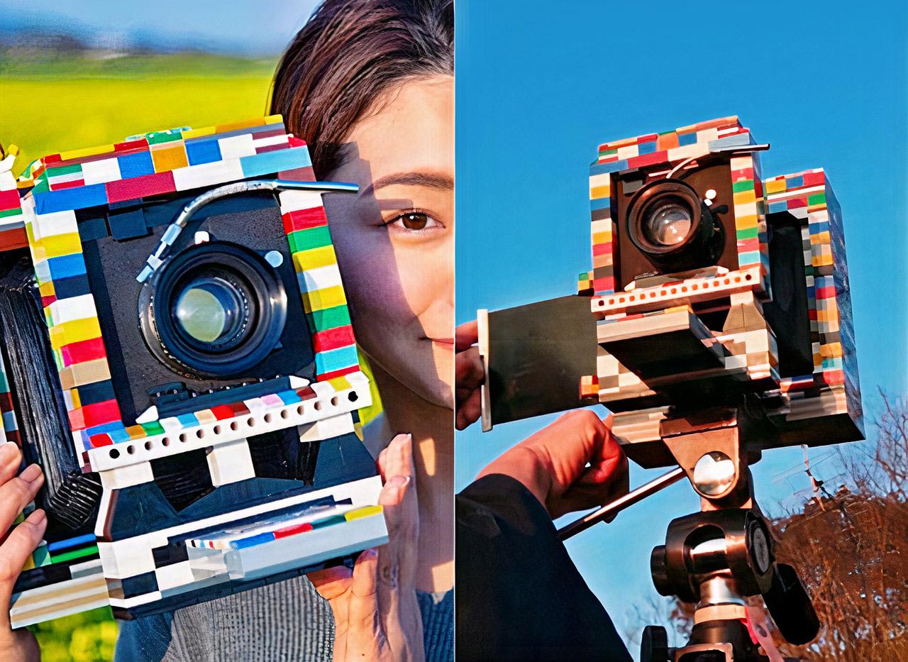 Fotógrafo construye una cámara funcional a partir de LEGO