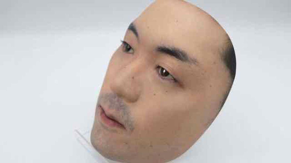 Kamenya Omoto tienda especialista en mascara compra una foto de tu rostro para hacer mascaras en 3D