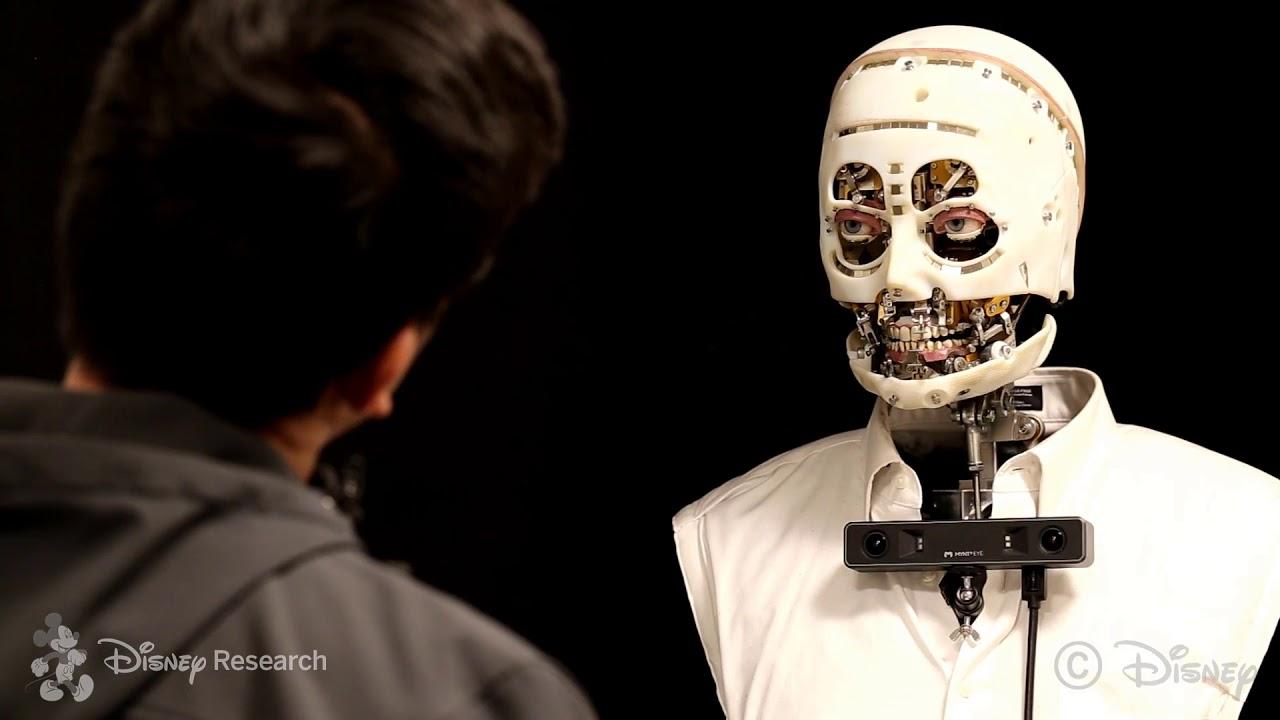 ¡Que miedo! Disney crea robots y su resultado es aterrador