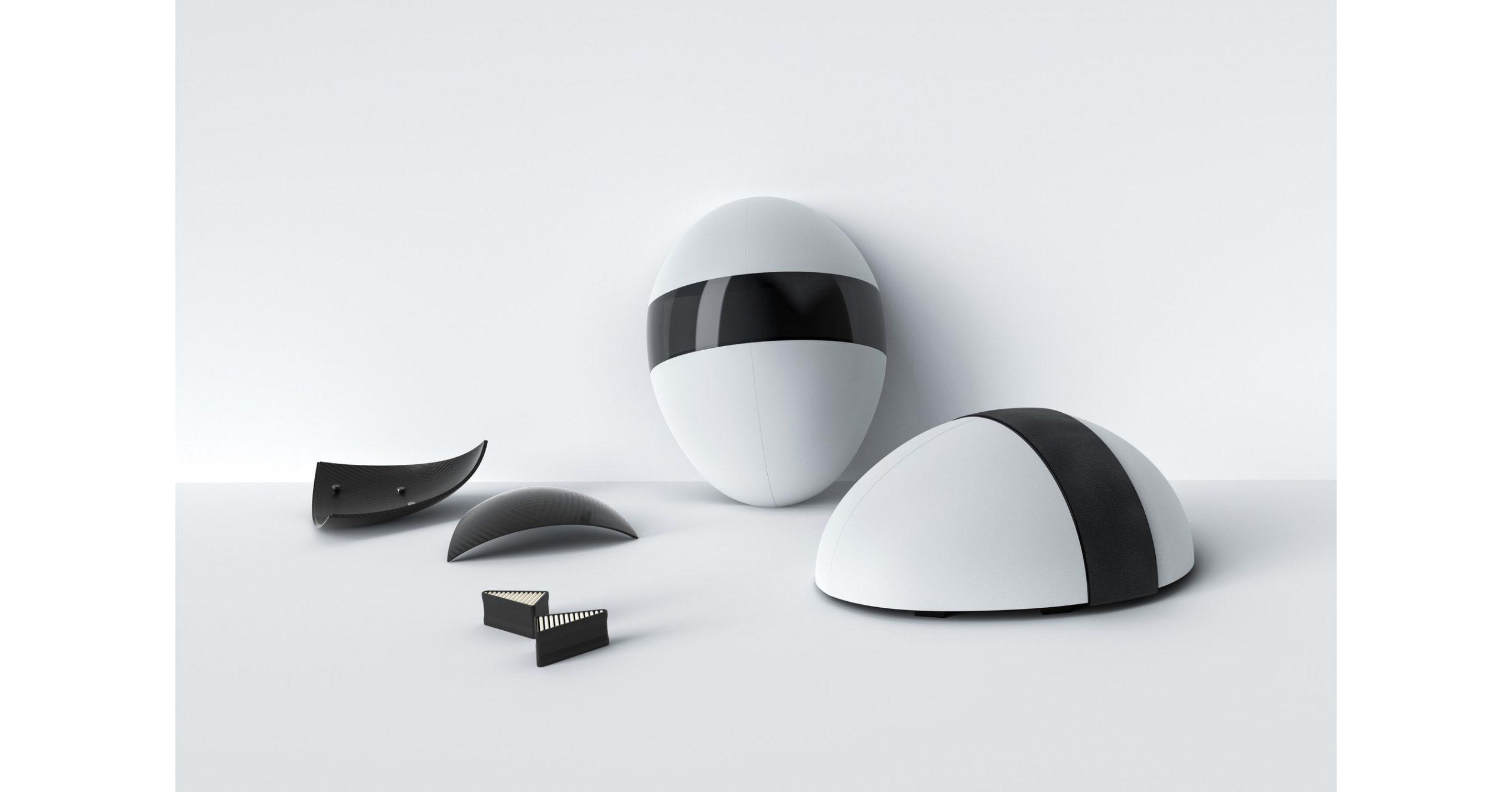 Blanc, la mascara de alta protección con estilo futurista