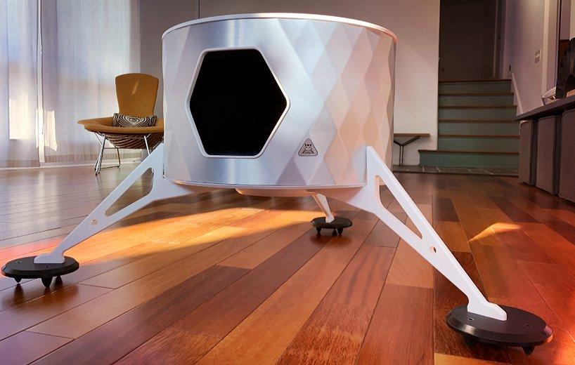 CATSA Lander Mark I, la cama para gatos más original que querrás querer