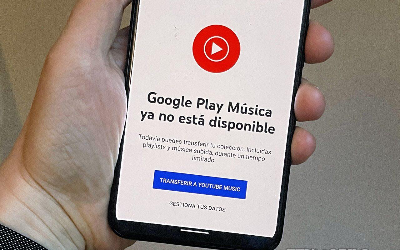 Google Play Music se cierra para todos