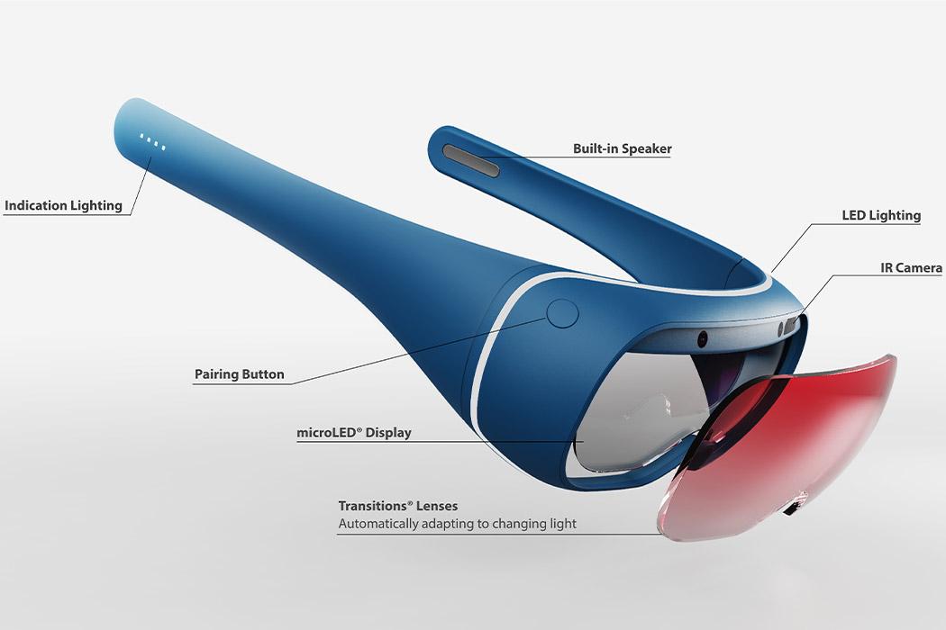 Así podrían verse las gafas de realidad aumentada de Nintendo