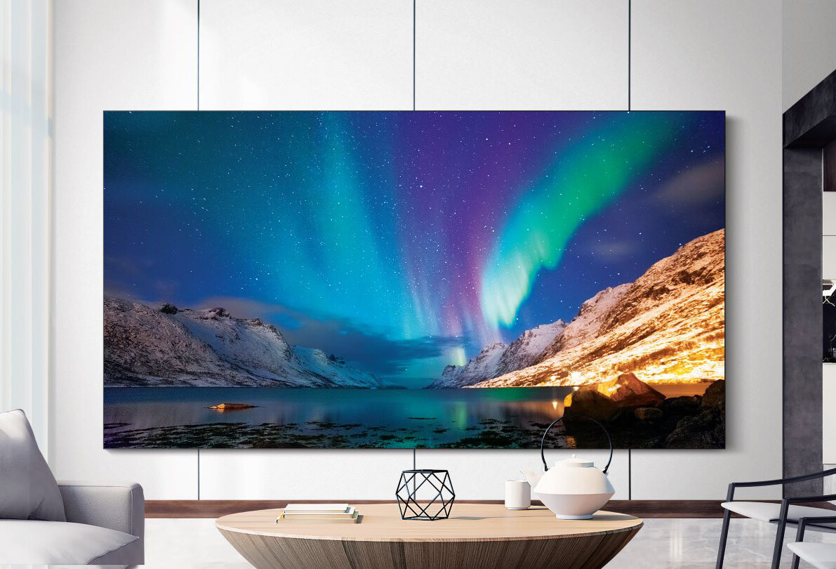 ¡Lo nuevo! Samsung nos trae su nuevo TV MicroLED de 110 pulgadas