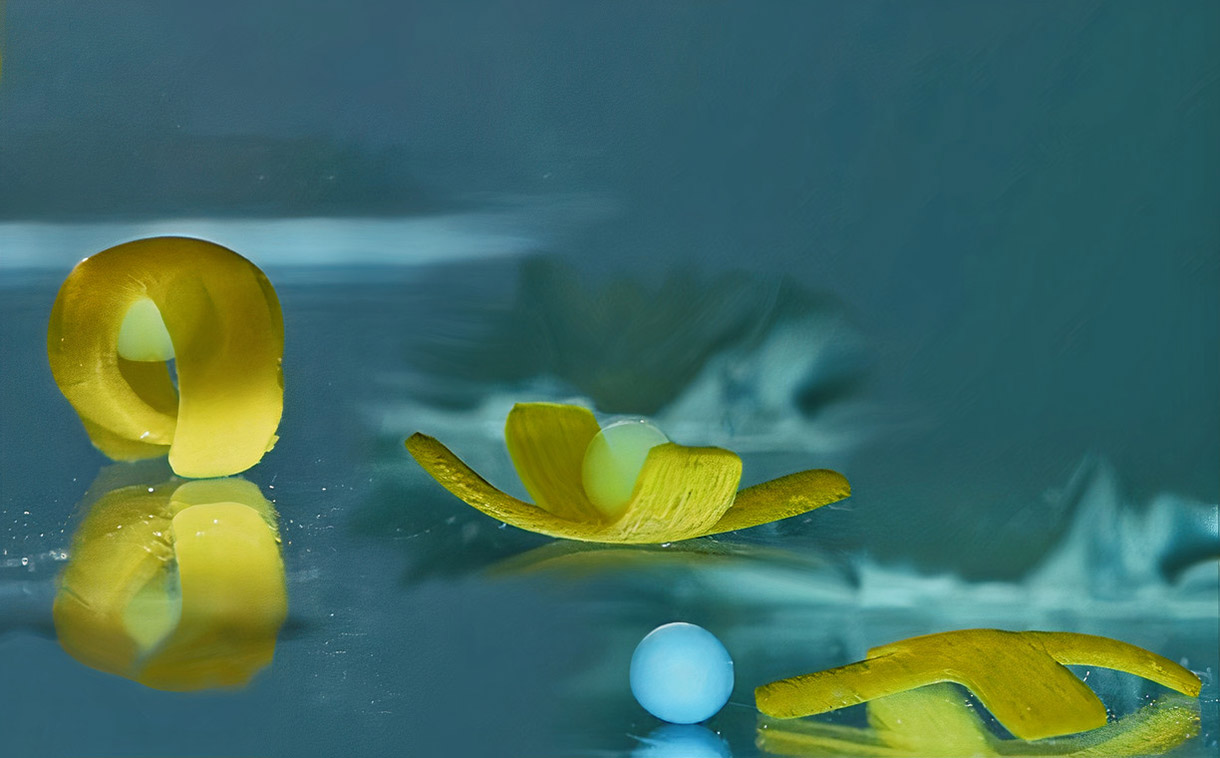Investigadores desarrollan un extraño robot acuático de luz capaz de bailar break dance