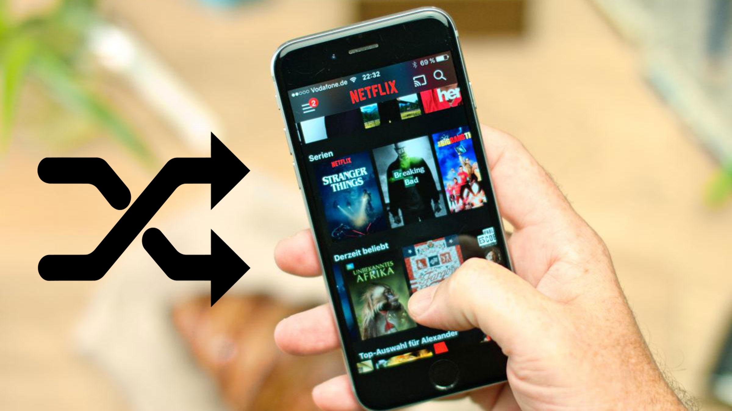 ¡No pierdas más tiempo! Netflix incorpora la función de reproducción aleatoria