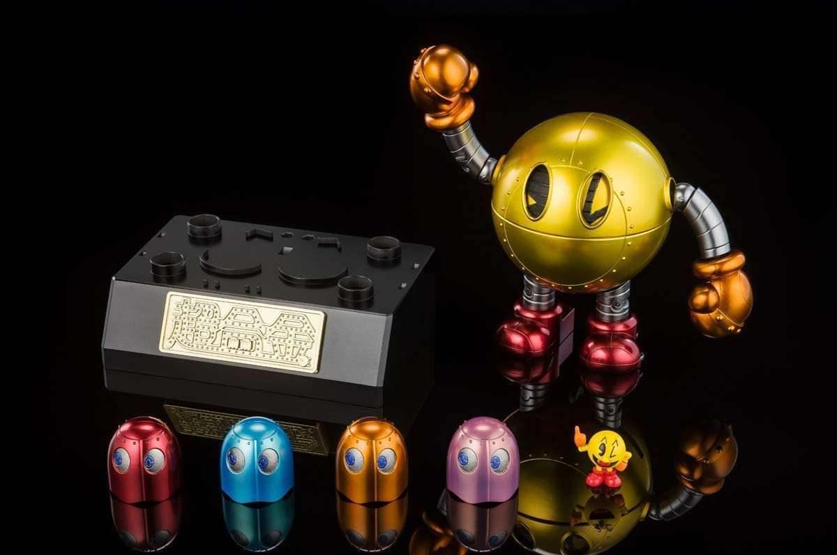 Pac-Man cumple 40 años y Tamashii Nations lanza tres figuras del personaje para celebrar