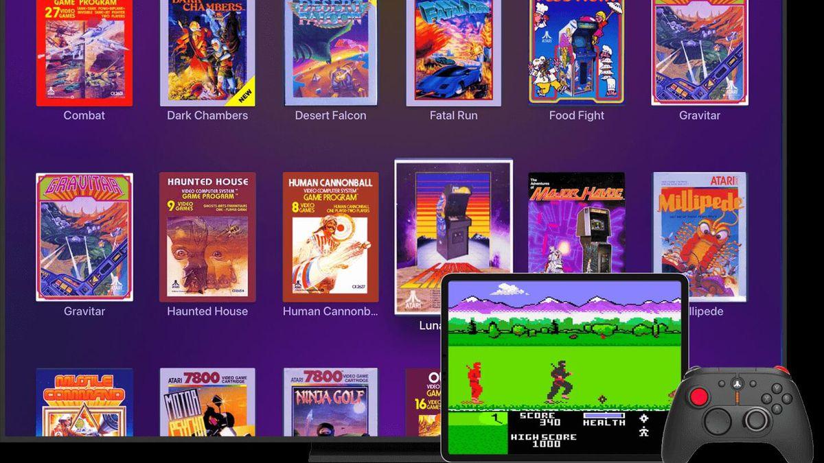 Plex Arcade, el servicio de videojuegos por suscripción que ofrece clásicos de Atari