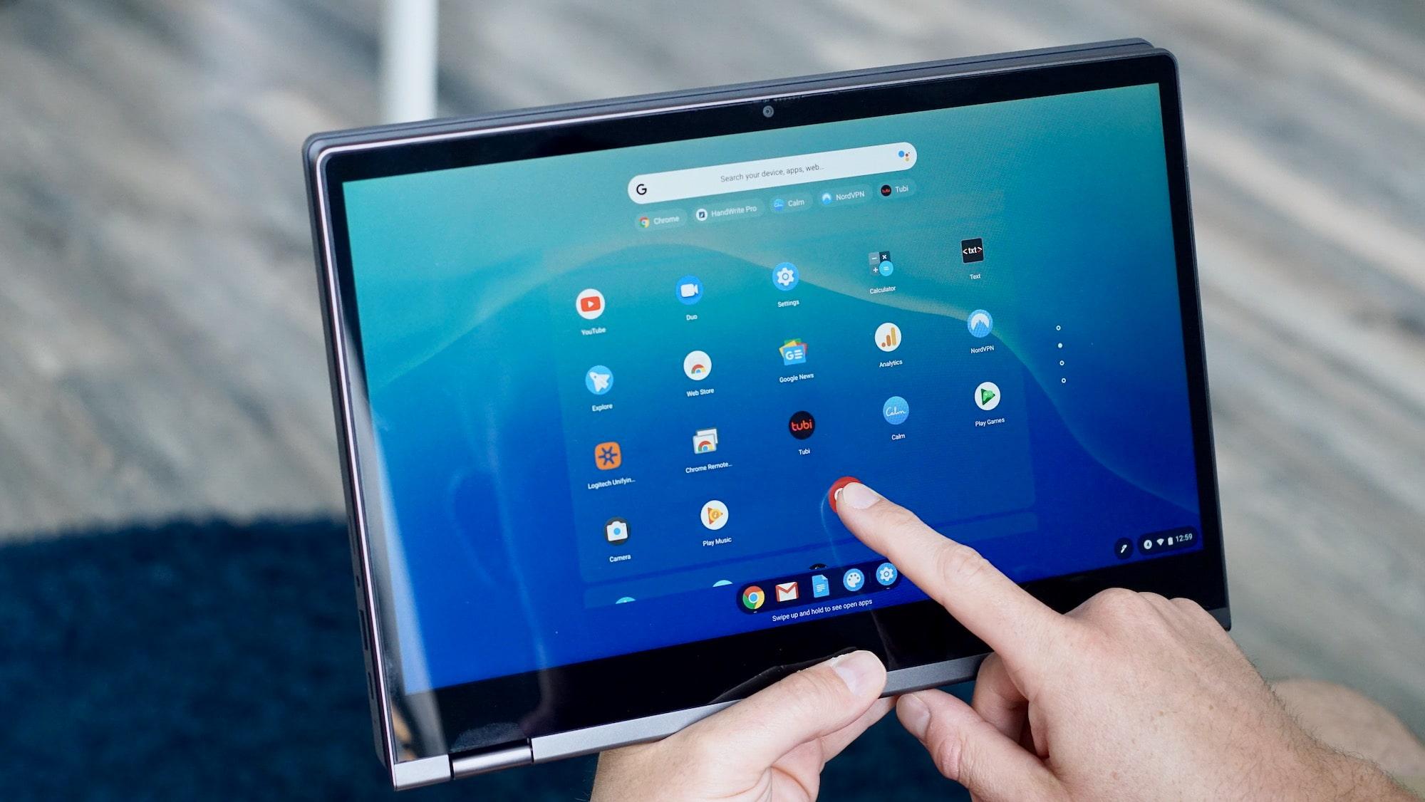 Chrome OS se actualiza y permite iniciar sesión con huella dactilar