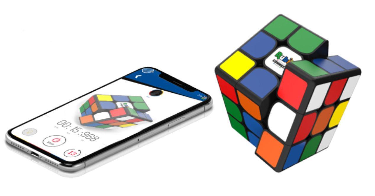 Cubo de Rubik utiliza bluetooth para ayudar a los usuarios a resolverlo